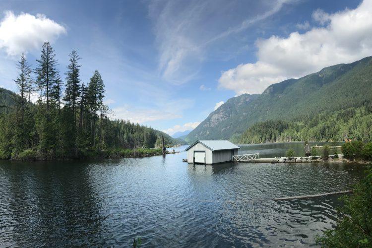 Port Moody, BC. Buntzen Lake.