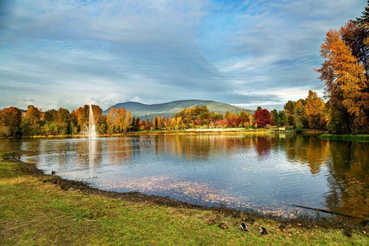 Lafarge Lake, Coquitlam, British Columbia