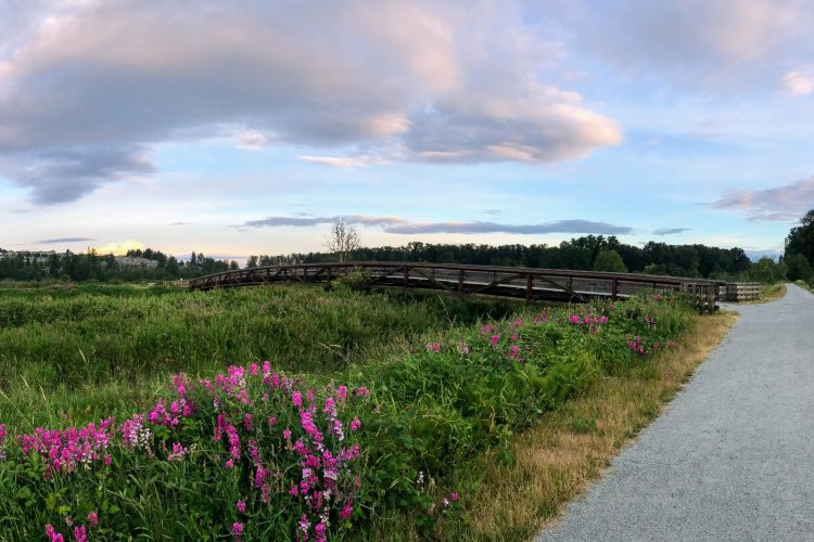 Colony Farm Regional Park in Port Coquitlam, British Columbia.