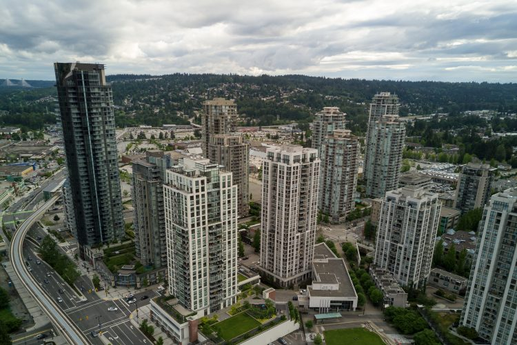 View of Buildings in British Columbia